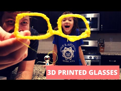 Glasses made with 3D Printing pen!