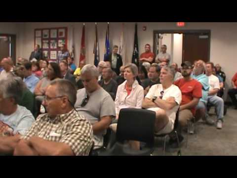Atoka Residents Speak Out against proposed gravel pit