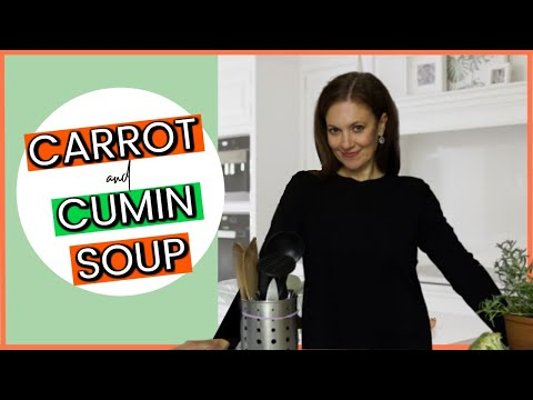Easy To Make SPICY CARROT AND CUMIN SOUP RECIPE | Vegetarian Lunch Recipes