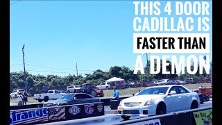 Mod2Fame Fest 2018 - Muscle and Exotic Car Drag Racing!!!