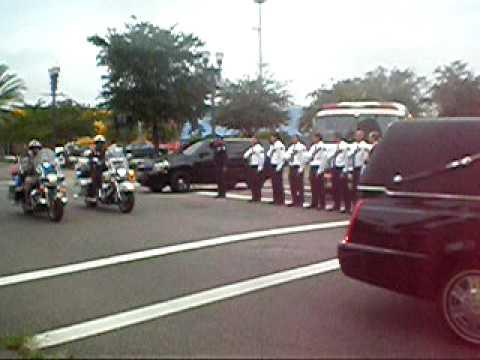 Jacksonville Observer video of Iraq War Hero Navy  Pilot Scott Speicher's Motorcade