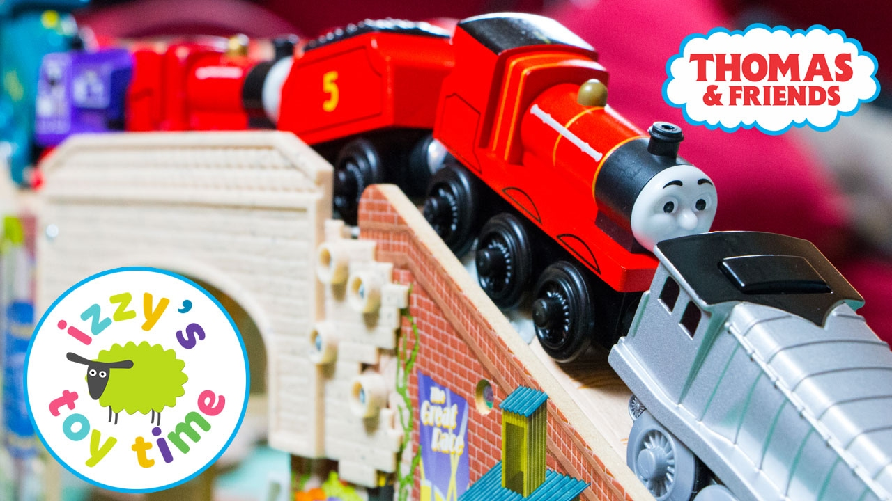 1c7145b2203b Thomas and Friends | Thomas Train Speedy Surprise Drop Playset | Fun Toy  Trains for Kids with Brio - YouTube