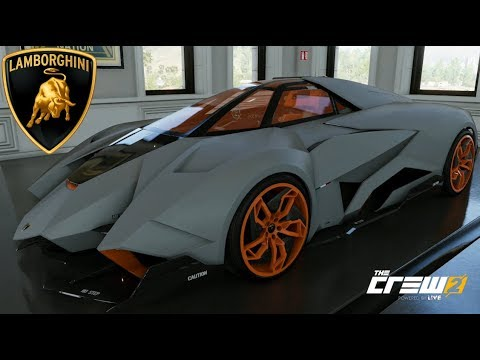 The Crew 2 Lamborghini Egoista Customization Top Speed Review