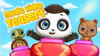 NEW Music Video Teaser - Panda Lu Fun Park 😲 Sing Along & Dance Music for Children & Family
