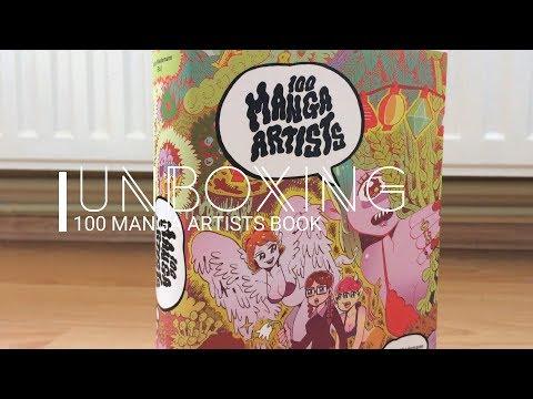 Unboxing 100 Manga Artists Book