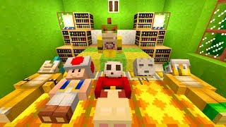 Minecraft Switch - Nintendo Fun House - Bowser Jr's Sleepover Party! [106]