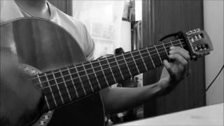 Hôn anh solo guitar