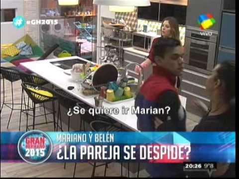 """""""Gran Hermano 2015"""": """"Cuando estemos afuera vamos a hacer el amor"""", le dijo Belén a Mariano"""