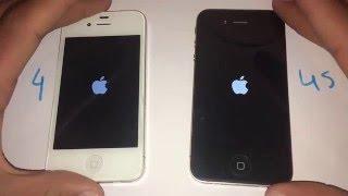 iPhone 4S iOS 921 vs iPhone 4 iOS 712 - Speed Test