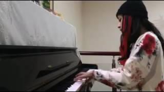 CHI PU CHƠI PIANO YOU ARE MY SUNSHINE CỰC HAY