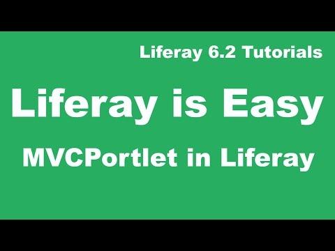 Liferay Tutorial 06 :-  MVC Portlet  in Liferay