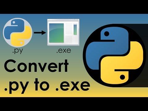 Convert PY to EXE