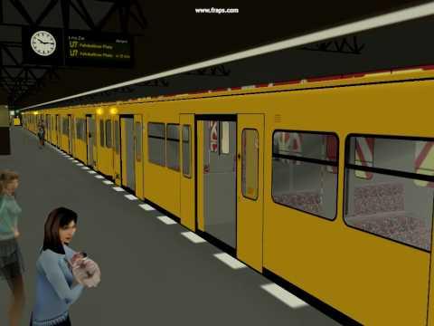 Trainz U-Bahn : Berlin : F90 @ Rohrdamm