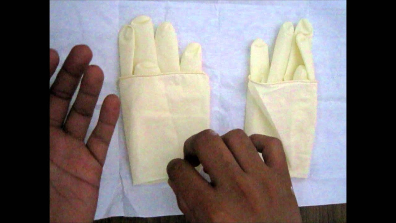 How To Wear Sterile Gloves? - YouTube