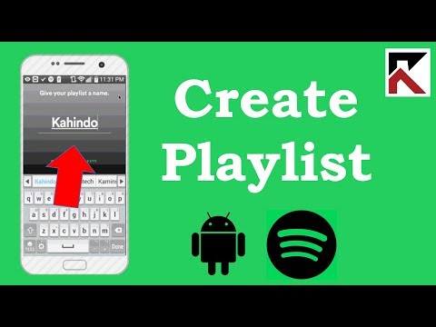 how-to-create-playlist-spotify-android