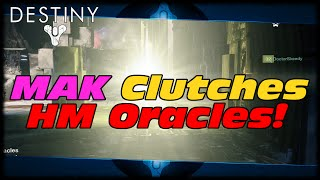Destiny MAK Clutches Oracles In Hard Mode Vault Of Glass! Destiny Random Funny Moments!