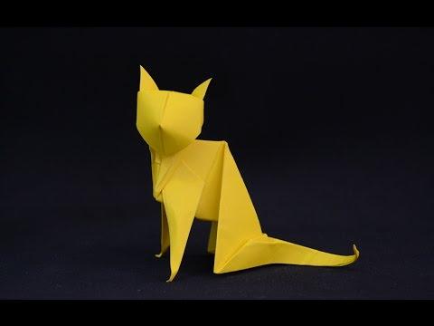 Origami Cat Youtube