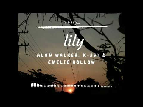 【Lily】- Alan Walker, K-391, & Emelie Hollow ( Spectrum + Lyrics)