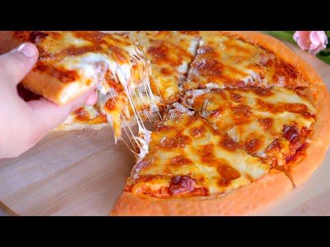 صورة  طريقة عمل البيتزا سر نجاح البيتزا عجينه قطنيه هشه👌 بمقادير بسيطه جدا والنتيجه ولا ارووووع 🙈 طريقة عمل البيتزا من يوتيوب