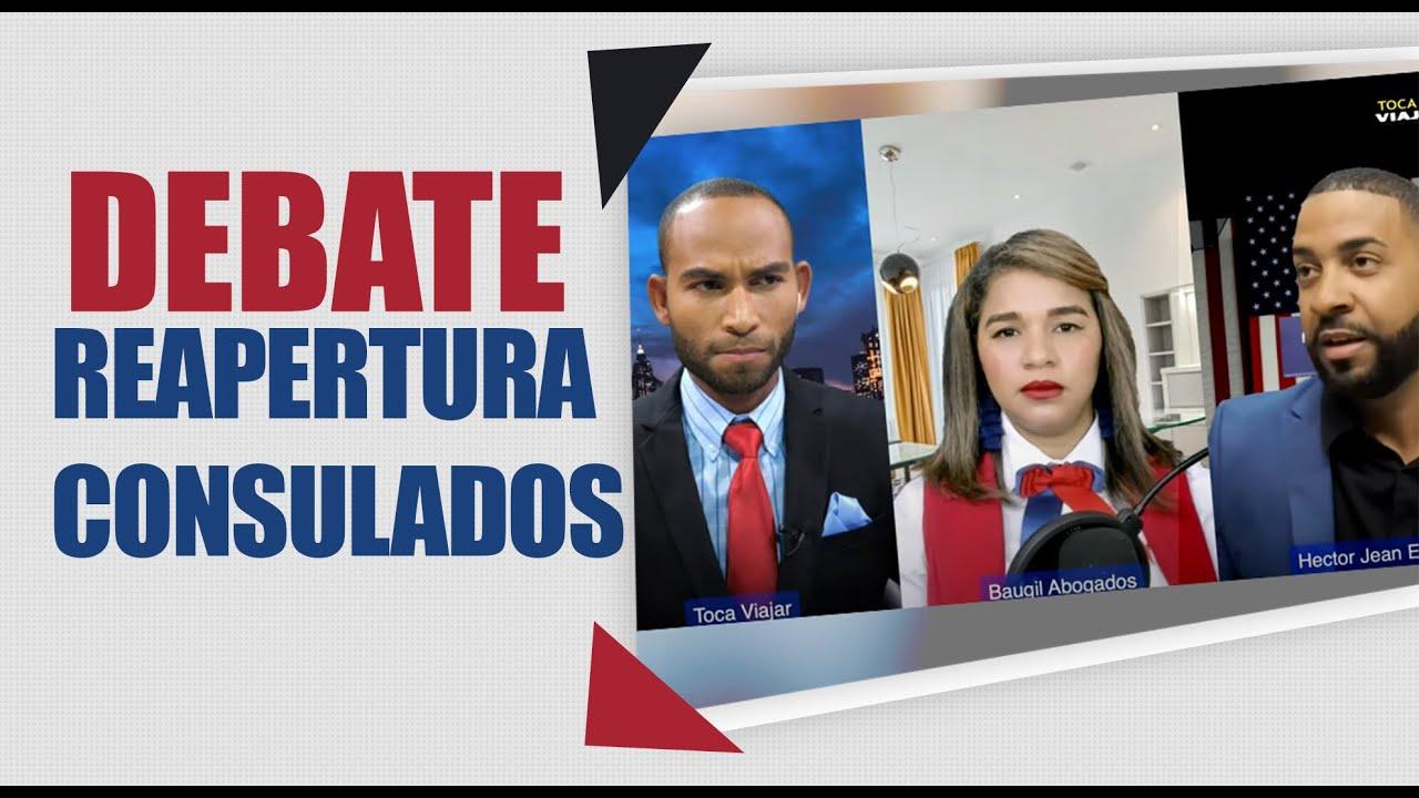 Debate Histórico😱:CUANDO ABRIRAN  LOS CONSULADOS, QUE HARAN PARA RESOLVER LOS RETRASOS?