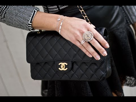 8934702967c714 How to spot a fake Chanel bag - YouTube