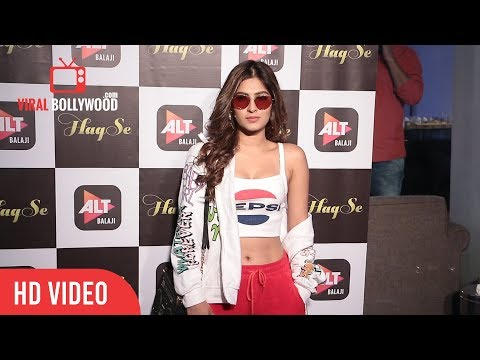 karishma Sharma At ALT Balaji's Haq Se Web Series Special Screening