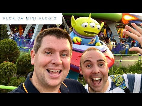 Walt Disney World Florida September 2018 - Daily Mini Vlog 2 - Travel Day, Beach Club & Toy Story