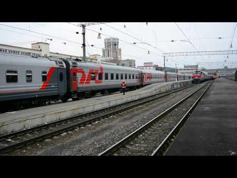ЧС2к-855 с поездом № 16 Волгоград — Москва
