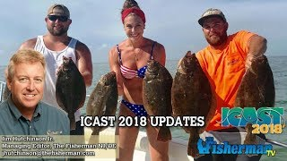 July 12, 2018 New Jersey/Delaware Bay Fishing Report with Jim Hutchinson, Jr.