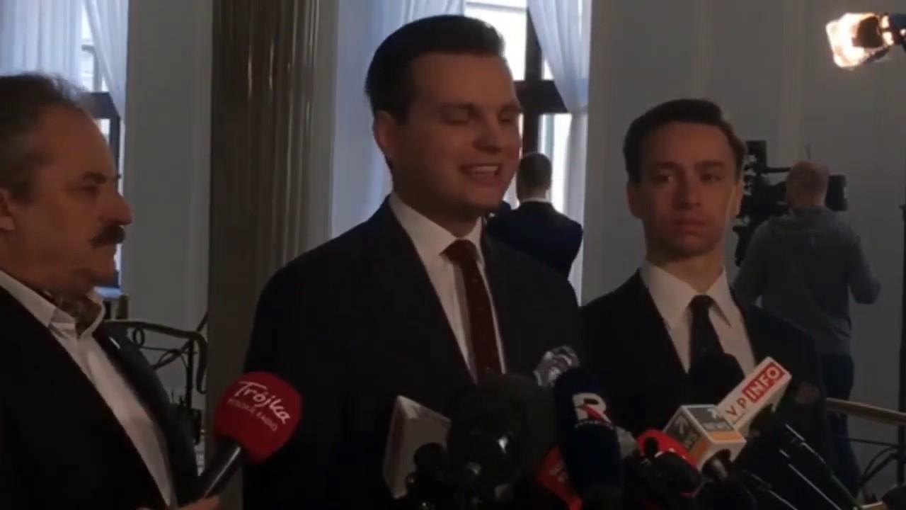 Jakubiak, Bosak i Kulesza (Konfederacja) - Przedstawienie kandydatów do PE w okręgu warszawskim