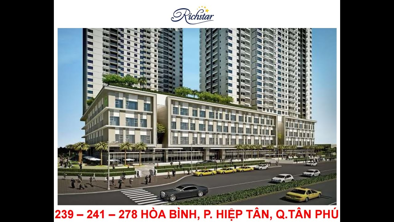 Căn hộ Richstar – Dự án Novaland quận Tân Phú