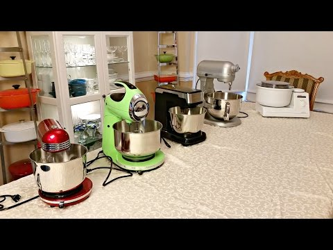 Amy's Cheap Stand Mixer Challenge: Sunbeam Mixmaster, Hamilton Beach & Dash Go
