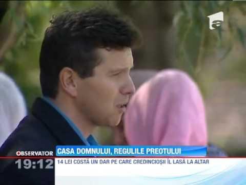 Un preot din Targu Mures face exorcizari in Biserica pentru a-si rotunji  veniturile