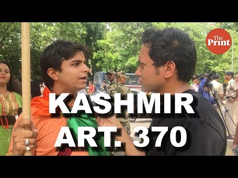 Is Article 370 about Kashmir or Kashmiris & the politics around a protest march
