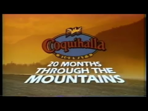 The Coquihalla: 20 Months Through the Mountains - a 1985 film about the construction of the highway