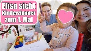 Elisas Live Reaktion auf neues Kinderzimmer 😍 1. Überraschung! Claras Aufführung VLOG | Mamiseelen