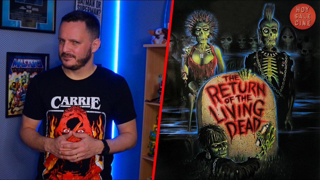 Download EL REGRESO DE LOS MUERTOS VIVOS - ¿Mejor película de Zombies EVER?   #HoySaleCine con Ale Turdó