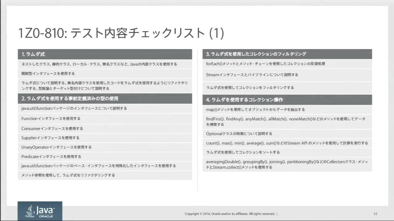 Oracle Certified Java Programmer Gold Se 8 1z0 809