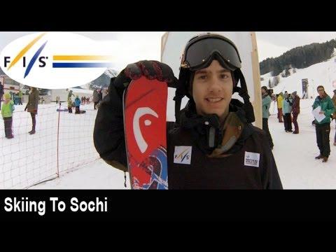 Skiing to Sochi with Jesper Tjader
