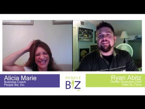 Sample Business Coaching Session with Alicia Marie and Chef Ryan Abitz
