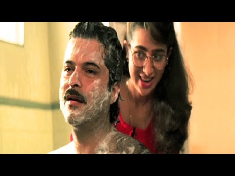 Anil Kapoor Gets Fooled By Karishma Kapoor - Andaz, Comedy Scene 19/22