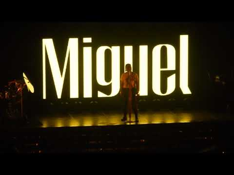 Miguel war and leisure concert