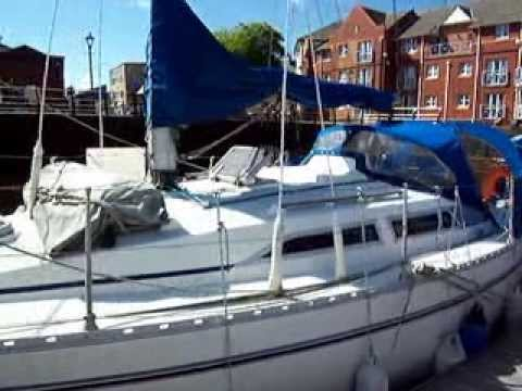 Moody 31 for sale with Network Yacht Brokers Swansea