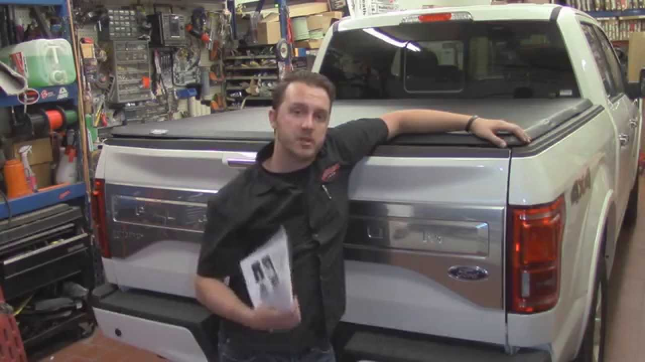 Tonno Pro Tonno Fold on 2015 F150   Best Value in Truck Bed Covers