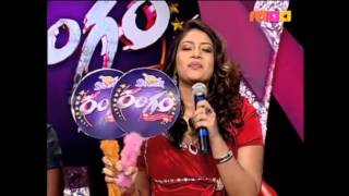 "aadarsh And Bhavana dance performed in""RANGAM"" on Maa TV"