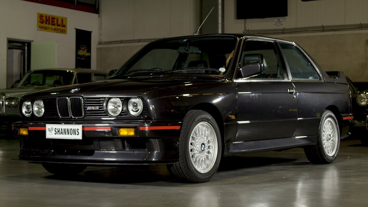1988 BMW E30 M3 Coupe (RHD) - 2020 Shannons Winter Timed Online Auction