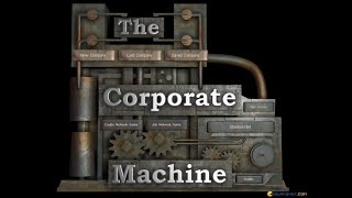 The Corporate Machine gameplay (PC Game, 2001)