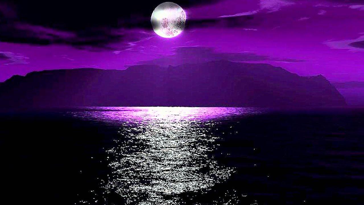 Caf del chillia purple moon youtube - Purple moon wallpaper ...