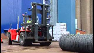 Kalmar High Capacity Forklifts & Lift Trucks at Work