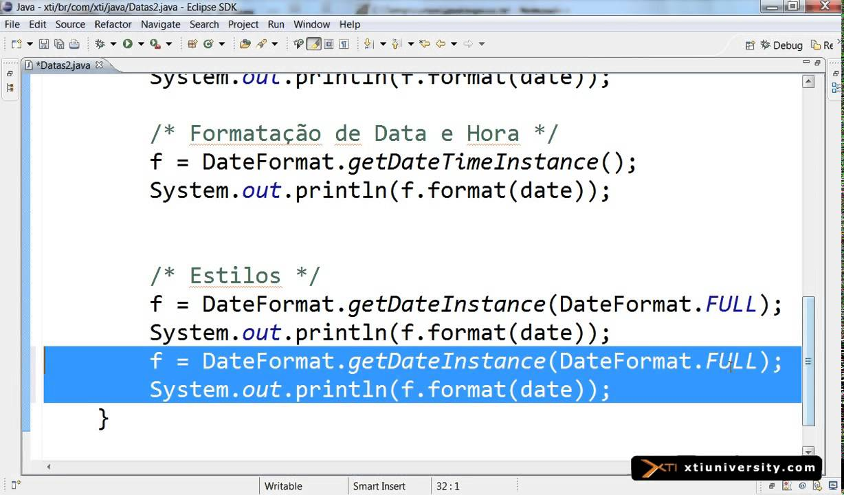 how to create date in java